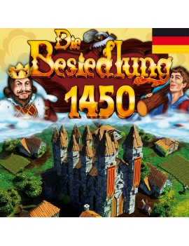 Die Besiedlung 1450 - German