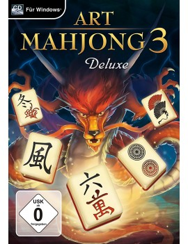 Serial Key CD-ROM Version - Art Mahjongg 3 - Deluxe