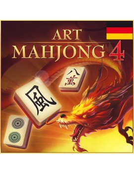 Art Mahjong 4 - German
